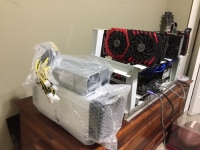 Brand new Antminer S9 14TH/s bitmain Asic mier + PSU APPW