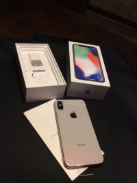 Brand new Apple iphone x 256GB silver