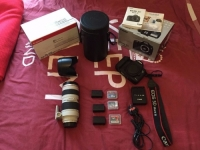 Canon 5D m ark 3 / 1300d with lens whatasp me now...+919836884617